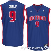 Men's Detroit Pistons Michael Gbinije adidas Royal Road Replica Jersey - 2621030