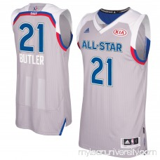 Men's Eastern Conference Jimmy Butler adidas Gray 2017 NBA All-Star Game Swingman Jersey - 2659149
