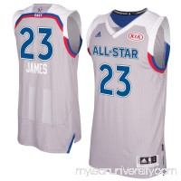 Men's Eastern Conference LeBron James adidas Gray 2017 NBA All-Star Game Swingman Jersey -   2659150