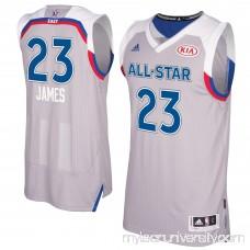 Men's Eastern Conference LeBron James adidas Gray 2017 NBA All-Star Game Swingman Jersey -   2659150