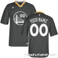 Men's Golden State Warriors adidas Black Custom Alternate Jersey -   2318695