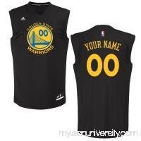 Men's Golden State Warriors adidas Black Custom Chase Jersey -   2652034