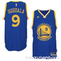 Men's Golden State Warriors Andre Iguodala adidas Royal Player Swingman Road Jersey -   1817203