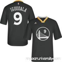 Men's Golden State Warriors Andre Iguodala adidas SlateReplica Short Sleeve Jersey - 1782743