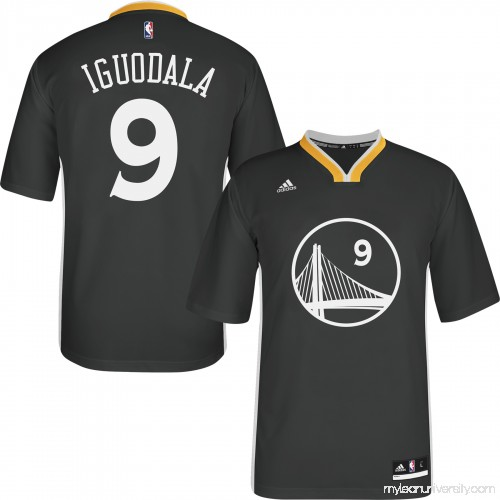 Men s Golden State Warriors Andre Iguodala adidas SlateReplica Short Sleeve  Jersey - 1782743 ea3d6b4e5