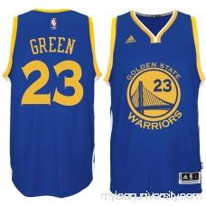 Men's Golden State Warriors Draymond Green adidas Royal Road Swingman climacool Jersey -   2178138