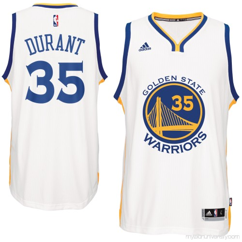 71296895548 Men s Golden State Warriors Kevin Durant adidas White Home Swingman Jersey  - 2520402