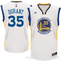 Men's Golden State Warriors Kevin Durant adidas White Replica Basketball Jersey -   2519963