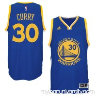 Men's Golden State Warriors Stephen Curry adidas Royal Player Swingman Road Jersey -   1768829