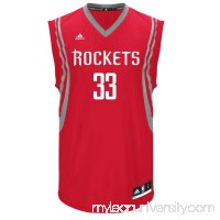 Men's Houston Rockets adidas Corey Brewer Red Road Replica Jersey -   2033436