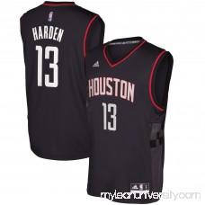 Men's Houston Rockets James Harden adidas Black Alternate Replica Jersey - 2600068