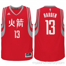 Men's Houston Rockets James Harden adidas Red 2017 Chinese New Year Swingman Performance Jersey -   2184206