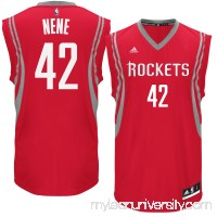 Men's Houston Rockets Nene adidas Red Road Replica Jersey -   2614542