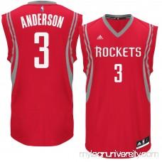 Men's Houston Rockets Ryan Anderson adidas Red Road Replica Jersey - 2614538