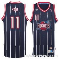 Men's Houston Rockets Yao Ming adidas Navy Hardwood Classic Swingman Jersey -   2148684