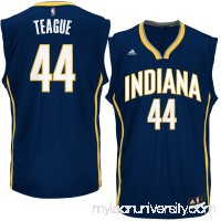 Men's Indiana Pacers Jeff Teague adidas Navy Road Swingman climacool Jersey -   2600090