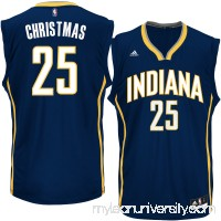 Men's Indiana Pacers Rakeem Christmas adidas Navy Replica Jersey - 2305420