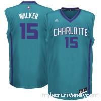 Men's Kemba Walker adidas Teal Replica Jersey -   1782708
