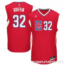 Men's LA Clippers Blake Griffin adidas Red 2015 Replica Road Jersey - 2162910