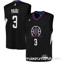Men's LA Clippers Chris Paul adidas Black Replica Basketball Jersey -   2449264