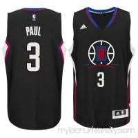 Men's LA Clippers Chris Paul adidas Black Swingman climacool Jersey -   2187356