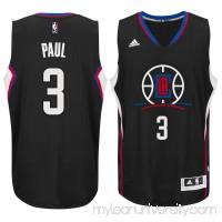Men's LA Clippers Chris Paul adidas Black Swingman climacool Jersey - 2187356
