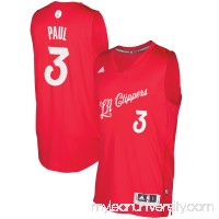 Men's LA Clippers Chris Paul adidas Red 2016 Christmas Day Swingman Jersey -   2505335