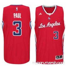 Men's LA Clippers Chris Paul adidas Red Player Swingman Road Jersey - 1817176