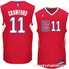 Men's LA Clippers Jamal Crawford adidas Red Replica Jersey -   2296964