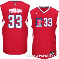 Men's LA Clippers Wesley Johnson adidas Red Replica Jersey -   2296965