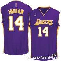 Men's Los Angeles Lakers Brandon Ingram adidas Purple Alternate Replica Jersey -   2601180