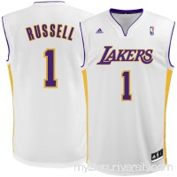 Men's Los Angeles Lakers D'Angelo Russell adidas White Replica Jersey -   2305734
