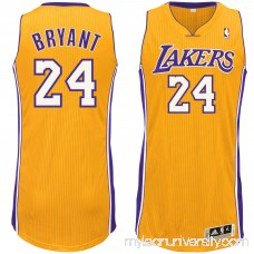 Men's Los Angeles Lakers Kobe Bryant adidas Gold Home Authentic climacool Jersey - 2397503