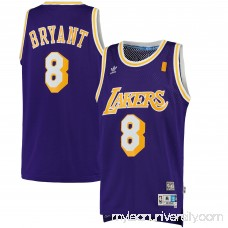 Men's Los Angeles Lakers Kobe Bryant adidas Purple Road Hardwood Classics Swingman Jersey -   2444811