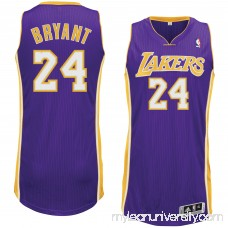 Men's Los Angeles Lakers Kobe Bryant adidas Purple Tall Sizes Authentic Jersey - 2397504