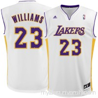 Men's Los Angeles Lakers Louis Williams adidas White Replica Jersey -   2305736