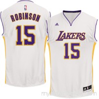 Men's Los Angeles Lakers Thomas Robinson adidas White Alternate Replica Jersey - 2624573