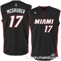 Men's Miami Heat Rodney McGruder adidas Black Replica Jersey -   2626193