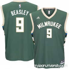 Men's Milwaukee Bucks Michael Beasley adidas Green Road Replica Jersey - 2622774