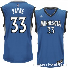 Men's Minnesota Timberwolves Adreian Payne adidas Royal Replica Jersey - 2301657