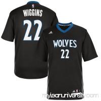 Men's Minnesota Timberwolves Andrew Wiggins adidas Black Replica Basketball Jersey -   2444733