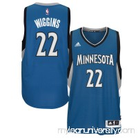 Men's Minnesota Timberwolves Andrew Wiggins adidas Blue Player Swingman Road Jersey - 1959415