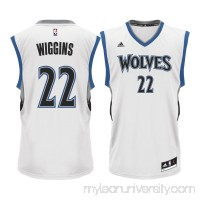 Men's Minnesota Timberwolves Andrew Wiggins adidas White Home Replica Jersey -   2215578