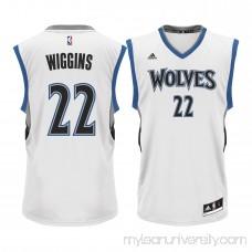 Men's Minnesota Timberwolves Andrew Wiggins adidas White Home Replica Jersey -   2215578