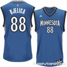 Men's Minnesota Timberwolves Nemanja Bjelica adidas Royal Replica Jersey - 2301655