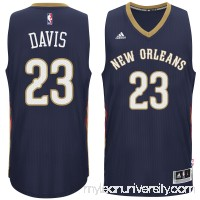 Men's New Orleans Pelicans Anthony Davis adidas Navy Player Swingman Jersey -   1768805