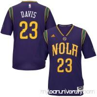Men's New Orleans Pelicans Anthony Davis adidas Purple Pride Swingman Jersey -   2186618