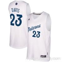 Men's New Orleans Pelicans Anthony Davis adidas White 2016 Christmas Day Swingman Jersey -   2505349