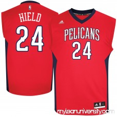 Men's New Orleans Pelicans Buddy Hield adidas Red Replica Jersey -   2585195