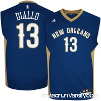 Men's New Orleans Pelicans Cheick Diallo adidas Navy Road Replica Jersey -   2621519